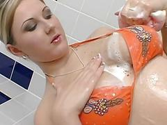 Wild pussy gratifying with wild lesbian babes