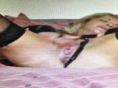 wife playing alone