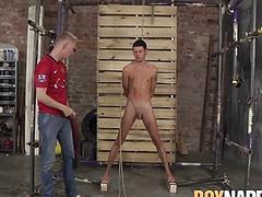 Xavier Sibley and Ashton Bradley getting wild in hot scene