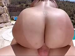 fun time in the pool with mega curvy bbw anastasia lux