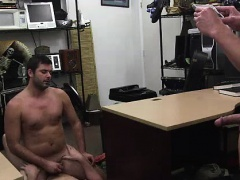 Amateur straight guy getting gay ass fuck for cash