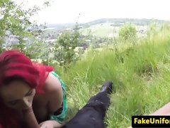 Pussy licked redhead brit cockrides officer