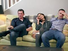 Keiran Lee pounds Janice Griffith pussy