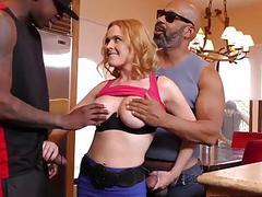 Krissy Lynn takes DP fucking  Cuckold Sessions