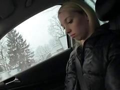 Czech girl Mina pussy banged for money