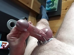 Cock ring tribute slow motion