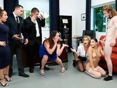 Slutty young bride Abella Danger cheats with a horny gentleman