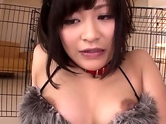 Adorable Aika Hoshino perfroming an amazing cosplay porn video