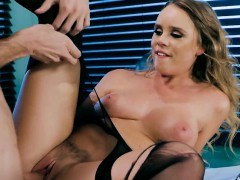 Sexy Babe Alexis Adams Gets Fucked And Cum Sprayed By Chef