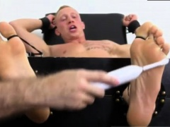 Xxx gay free young feet Cristian Tickled In The Tickle Chair