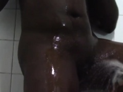 Amazing busty friends are eager to wash the filth off of
