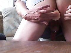 Dildo im Butt