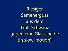 Megacumshot by Trollschwanz (slow motion)