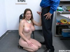 Godlike busty girlfriend Bianca Burke nicely fucked by a long dick