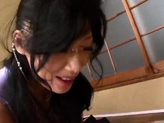 Sultry Oriental housewives share their love for hardcore sex