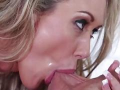 Pure milf  Brandi Love drives crazy