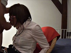 Renata gets her face fucked and cum dumped!