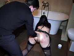 bella anal fucked swallowed sperm part 2 in silvapon.com
