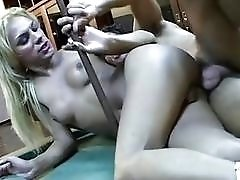 Hypnotic blonde does the most erotic beautiful blowjob and fuck